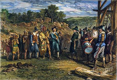 Pilgrims: Massasoit Poster by Granger