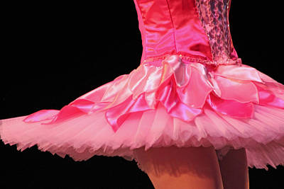 Pink Tutu Two Poster by Lauri Novak