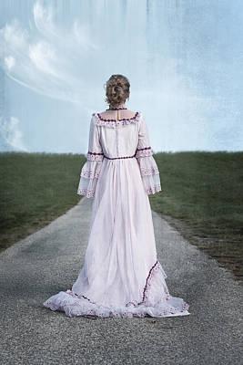 Pink Wedding Dress Poster by Joana Kruse