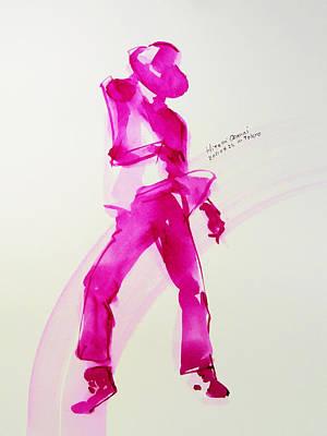 Pinkpanther Poster by Hitomi Osanai