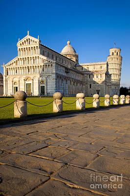 Pisa Poster by Brian Jannsen