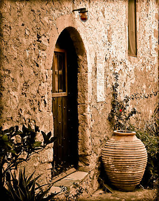 Monemvasia, Greece - Pithos Poster