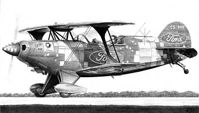 Pitts S-2b Poster by Lyle Brown