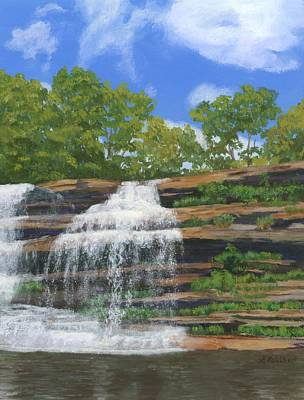 Pixley Falls Poster by Lynne Reichhart