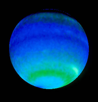 Planet Neptune, Showing Weather Patterns Poster