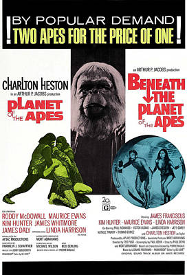 Planet Of The Apes, 1968 Poster