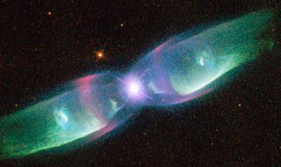 Planetary Nebula M2-9 Poster