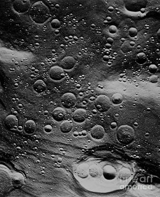 Planned Landing Site, Fra Mauro Area Poster by NASA / Science Source