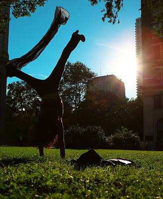 Playing With The Sun - Philadelphia - Pensilvania - Sunset Poster