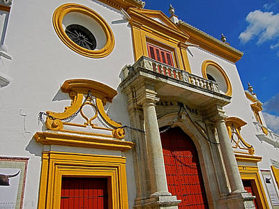 Plaza De Toros De La Maestranza - Seville  Poster by Juergen Weiss