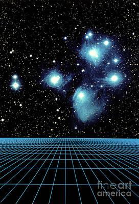 Pleiades In Taurus Poster