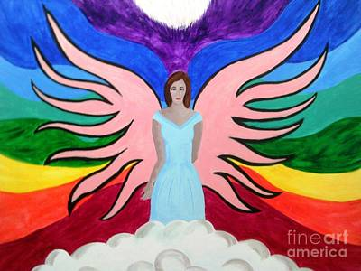 Pleiadian Goddess Poster