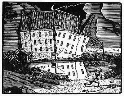 Poe: House Of Usher Poster by Granger