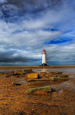 Point Of Ayr Beach Poster by Adrian Evans