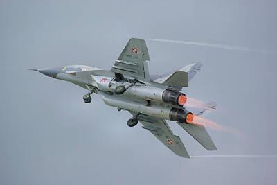 Polish Air Force Mig-29 Poster