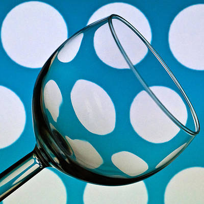 Poster featuring the photograph Polka Dot Glass by Steve Purnell