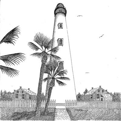 Ponce Inlet Lighthouse Poster by Tim Murray
