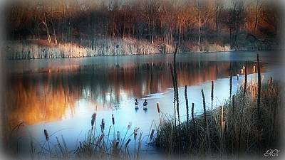 Poster featuring the photograph Pond Creek by Michelle Frizzell-Thompson