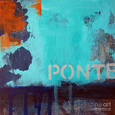 Ponte Poster by Linda Woods