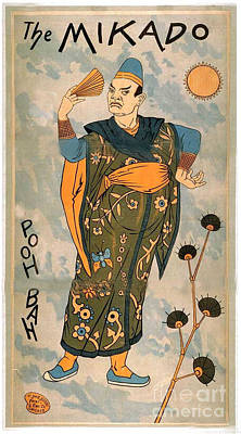 Poo Bah From The Mikado Poster
