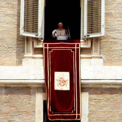 Pope Benedict Xvi B Poster
