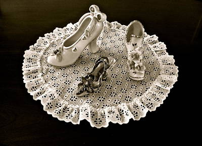 Porcelain And Lace Poster