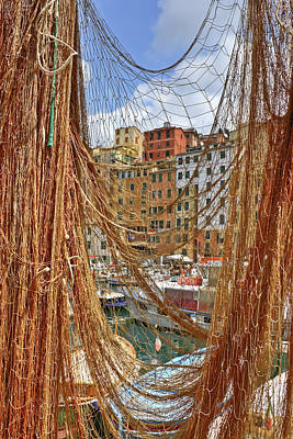 Port Of Camogli Poster by Joana Kruse