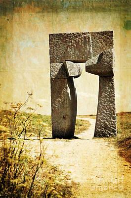 Portal - La Coruna Poster by Mary Machare