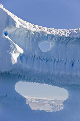 Portion Of A Gigantic Iceberg Poster