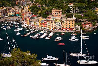 Portofino Poster by Brian Jannsen