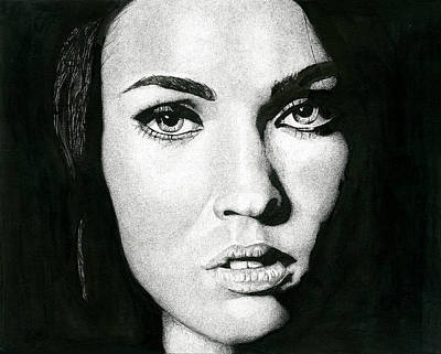 Portrait  Poster by Ian Tullock