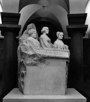 Portrait Monument To Lucretia Mott Poster