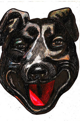 Portrait Of A Pooch Poster by Al Goldfarb