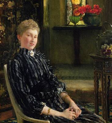 Portrait Of Mrs Ralph Sneyd Poster by Sir Lawrence Alma-Tadema