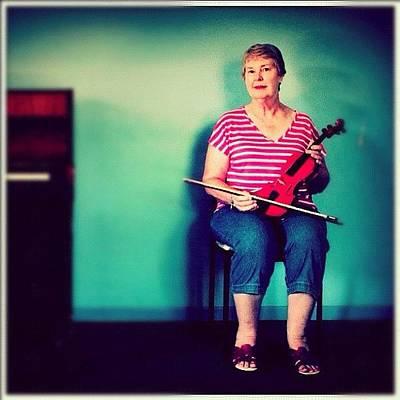 #portrait #pinup #studio #violin #music Poster
