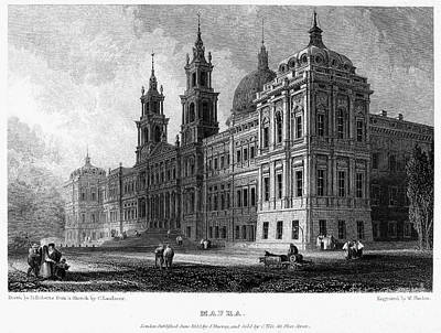 Portugal: Mafra Palace Poster by Granger