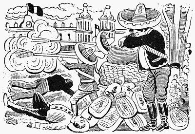 Posada: Attack, 1910-12 Poster by Granger