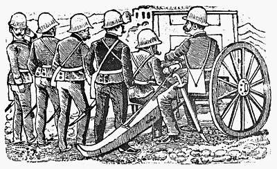 Posada: The Artillerymen Poster by Granger