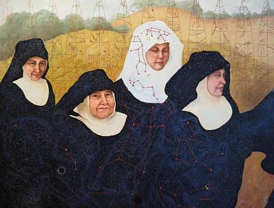Praenuntius Poster by Leda Miller
