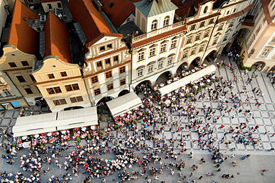 Prague Old Town Square Poster by Artur Bogacki