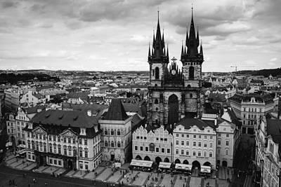 Prague Tyn Church Poster