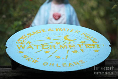 Poster featuring the photograph Pray No More Floods In New Orleans by Luana K Perez