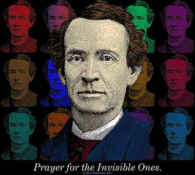 Prayer For The Invisible Ones Poster by Eric Edelman