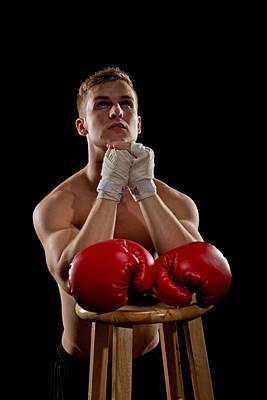 Praying Boxer Poster