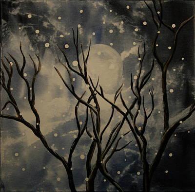 Prescott Snow Storm Poster by Teresa Beyer