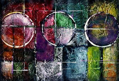 Presente Pasado Y Futuro -art By Laura Gomez Poster by Laura  Gomez