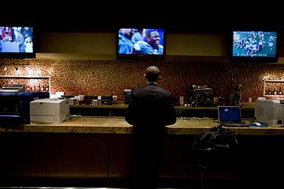President Barack Obama Watches Poster