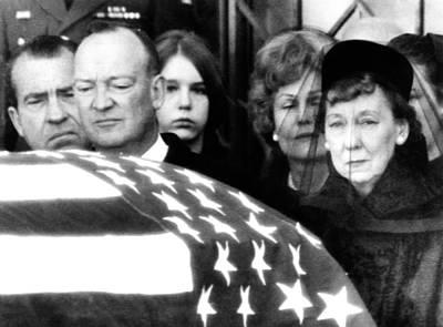 President Eisenhowers Funeral Poster