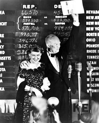 President-elect Dwight Eisenhower Poster by Everett