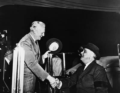 President Franklin D. Roosevelt Right Poster by Everett